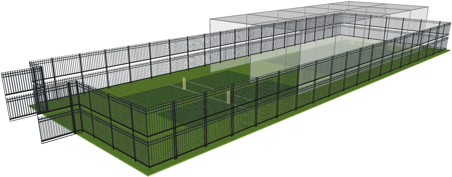 Security Fence Option 2