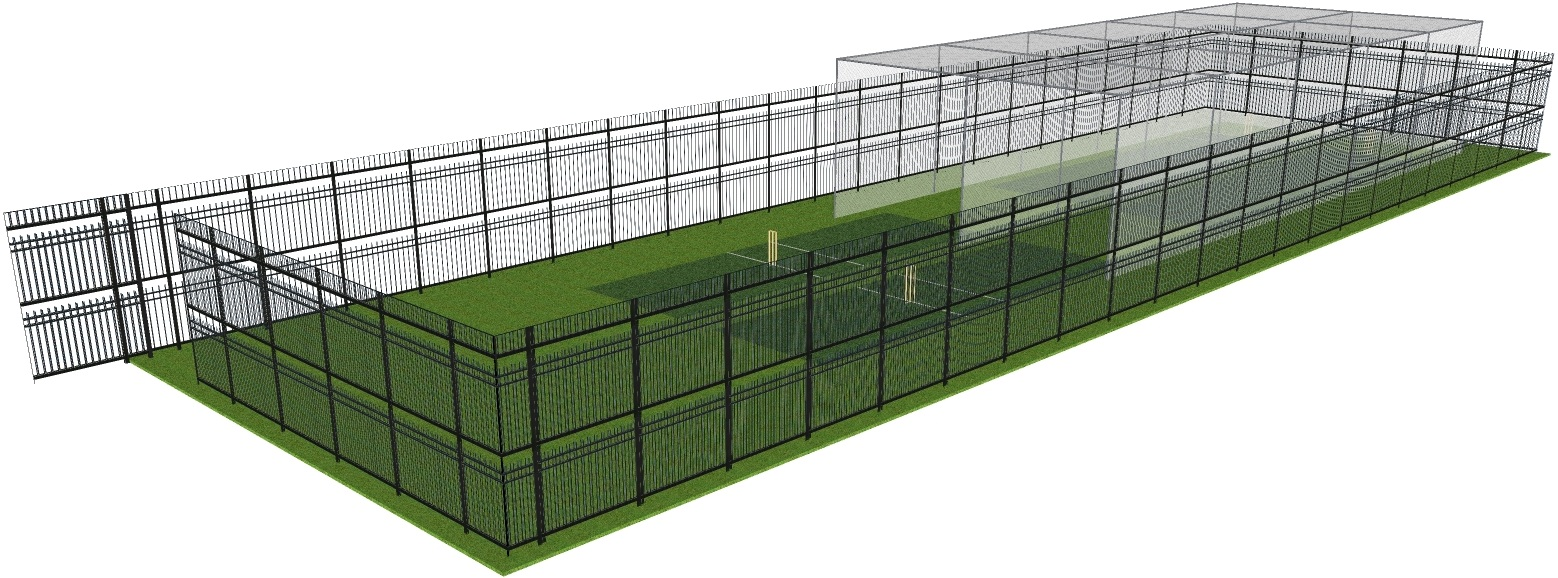 Security Fence Option 3